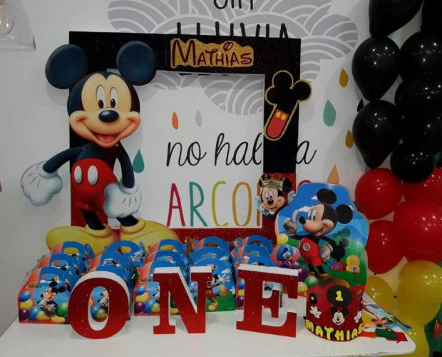 decoracion infantil cumpleaños mickey mouse carambola centro